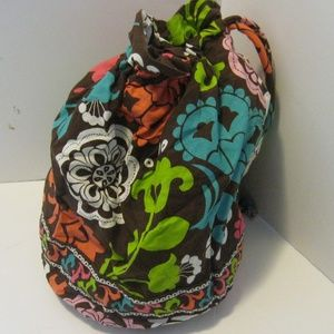 Vera Bradley Cinch Sack in Lola - Plastic Lined